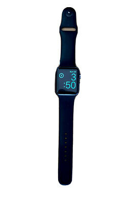 $ CDN68.55 • Buy Apple Watch Series 1 42mm Space Gray Aluminum With Black Sport Band
