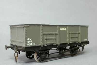 K's GWR Loco Coal Mineral Open Wagon Brass & White Metal Un Built Kit • 12.95£