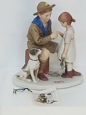 $ CDN40.21 • Buy The Young Doctor - Dave Grossman 1977 Figurine Norman Rockwell Collectible LNIB
