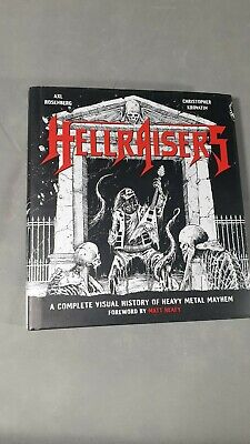 Hellraisers A Complete Visual History Of Heavy Metal Mayhem Hardcover Music Book • 7£