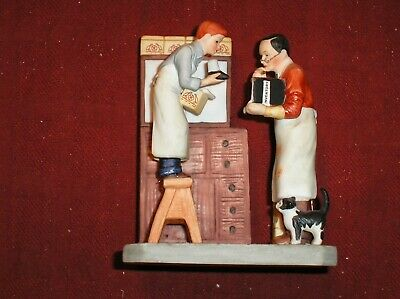 $ CDN19.93 • Buy Gorham Norman Rockwell  Year End Count  Limited Edition Figurine
