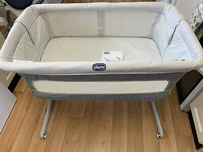 Chicco Next2me Crib Dream Delicacy Baby Bedside Cot • 29.99£