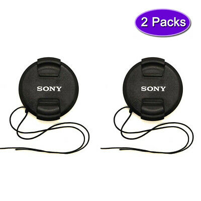 AU9.31 • Buy Sony 40.5mm Lens Cap Cover For Sony A6500 A6400 A6300 Kit 16-50mm Lens-(2 Packs)