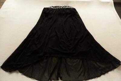 AU10 • Buy NEW WITH TAGS - ASOS Black Beaded Strapless Dress Size Uk 12