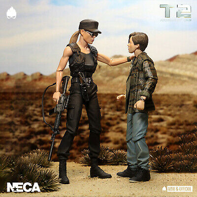 NECA - Terminator 2 Sarah & John Connor 2 Pack [Pre-Order] • NEW & OFFICIAL •    • 67.95£