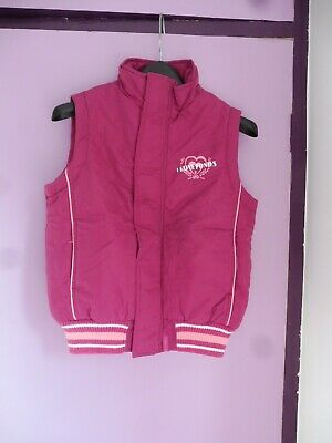 Cuddly Ponies Quilted Bodywarmer, Approx. Age 6-8 Years • 10£