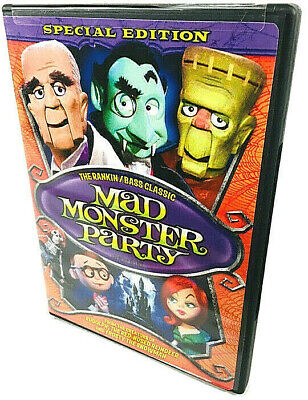 $8.95 • Buy Mad Monster Party -- The Rankin / Bass Classic - Special Edition - Boris Karloff