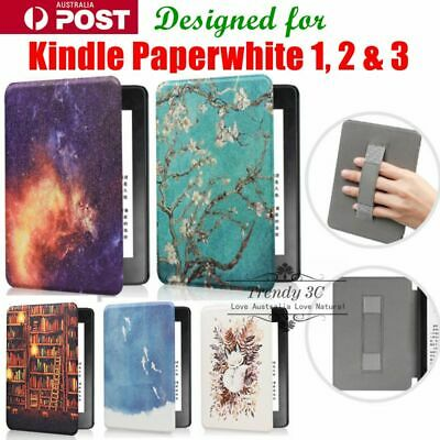 AU18.99 • Buy For Kindle Paperwhite 1,2 & 3 TPU Pattern Marble Creative Handle Cover Case
