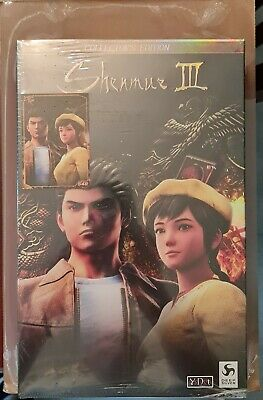 AU199 • Buy Shenmue 3 Collector's Edition Limited Run Games Sony PS4 New Sealed