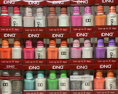 AU13.95 • Buy DND Daisy Duo Shellac Gel+Matching Nail Polish Color (401-710)
