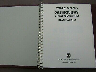 Guernsey - All Sets Mint Near Complete 1969/1991 In Gibbons Illustrated Album • 0.99£