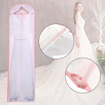 Wedding Dress Bag Garment Storage Gown Cover Bridal Dustproof Protector Clothes • 4.99£