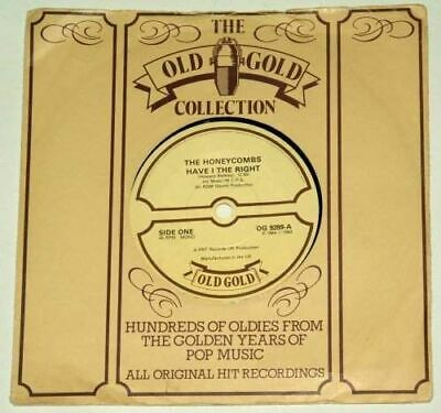 THE HONEYCOMBS - Have I The Right - UK 7  Old Gold Re-issue • 0.99£