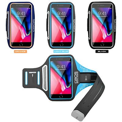 AU31.99 • Buy GBOS® New Light Weight Armband Running For IPhone 8 Plus With Free Adapter