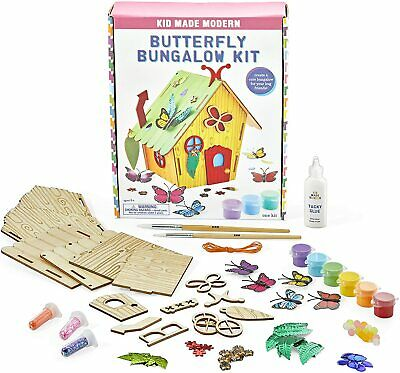 Kid Made Modern Butterfly Bungalow Kit  Arts And Crafts For Kids NEW DAMAGED BOX • 21.52£
