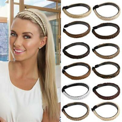 $7.91 • Buy Women's Braided Hair Bands Hair Hoop Accessories Synthetic Headbands Hairpieces