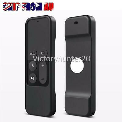 AU9.95 • Buy Remote Cover Skin For Case Silicone Apple TV 4th Gen Protective Controller AA