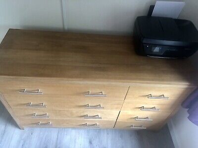 Marks & Spencer Solid Oak Chest Of Drawers • 400£