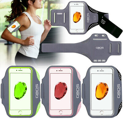 AU32.99 • Buy GBOS® Gym Armband Running Exercise Workout Case For IPhone 8 Plus Free Adapter