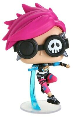 AU14.95 • Buy Overwatch Tracer Punk Skin Exclusive Pop! Vinyl Figure