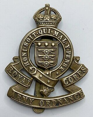 Royal Army Ordnance Corps, British Military Cap Badge • 7.50£