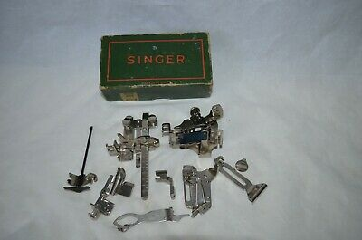 $10.49 • Buy Vintage Singer 221 Featherweight  Sewing Machine Attachments 456360 Lot