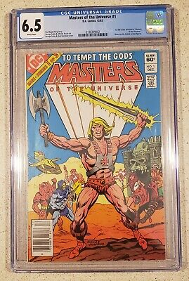$75 • Buy Masters Of The Universe #1 ( DC 1982 )  CGC 6.5 Graded  FINE+ He Man Skeletor