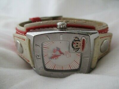 Julius Watch By Paul Frank With Two-tone Buckle Band WORKING! • 21.30£