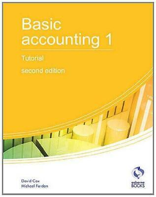 Basic Accounting 1 Tutorial (AAT Accounting - Level 2 Certificate In Accounting) • 4.18£