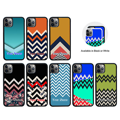 CHEVRON BLOCK | Personalised Case For IPhone 5 5s SE 6 6s 7 8 PLUS XS 11 Pro Max • 5.99£