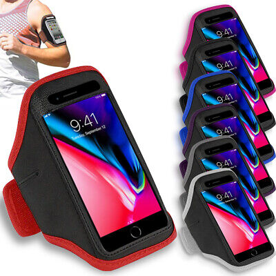 AU11.99 • Buy Premium Sport Armband Running Jogging Exercise For IPhone 8 Plus With Free Gift
