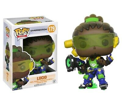 AU18.95 • Buy Overwatch Lucio Pop! Vinyl Figure #179