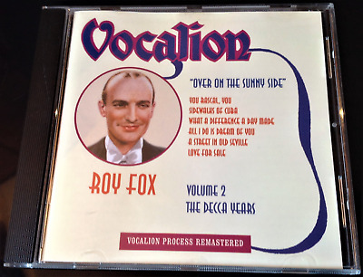 Roy Fox - The Decca Years Volume Two: Over On The Sunny Side (2000) CD • 12£