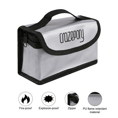 Explosionproof Fireproof Lipo Battery Bag Guard Safe Bag Pouch For Lipo Battery • 6.29£