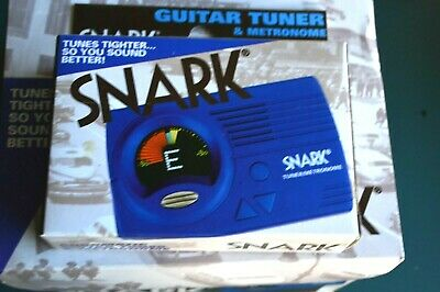$ CDN16.02 • Buy Snark Sn-3 Blue Guitar And Bass Chromatic Tuner