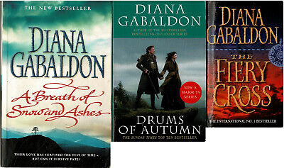 AU45 • Buy Bulk Lot: Outlander - 3 Books! By Diana Gabaldon SC VGC