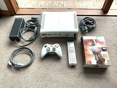 AU40 • Buy Xbox 360 Console White 60GB + Fable 3 Collectors Edition