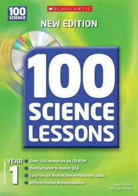 100 Science Lessons For Year 1 With CD-Rom, Very Good Condition Book, Wilson, Ga • 2.85£
