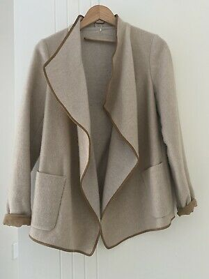 AU37 • Buy Massimo Dutti Wool Blend Cardigan/jacket Size S. Very Good Condition.