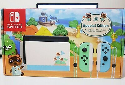 AU426 • Buy Nintendo Switch Animal Crossing New Horizons Special Edition Console