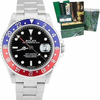 $ CDN13798.30 • Buy 2020 RSC Rolex GMT-Master 40mm 16700 PEPSI RED BLUE Stainless Black Watch 16710