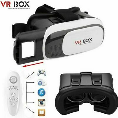 AU29.99 • Buy 3D Virtual Reality Glasses VR BOX Headset +Bluetooth Remote Control Android IOS