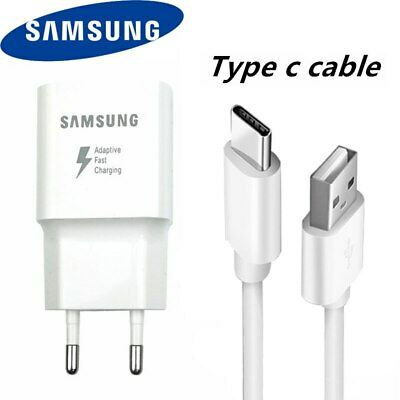 $ CDN11.80 • Buy Original Samsung Fast Charger Adapter USB Type C Cable Galaxy S8 S9 S10+ A50 A70