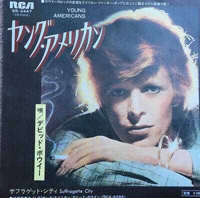 David Bowie Young Americans 7 Inch Vinyl Single Japanese Single • 100£