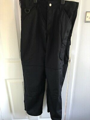 Mens Scruffs Work Combat Trousers Large 34W R- Length • 4£