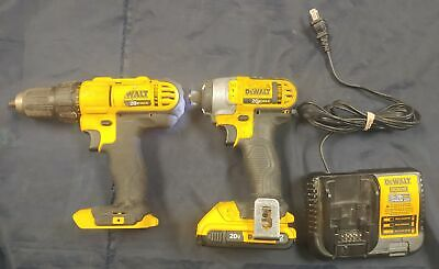 $74.99 • Buy Dewalt Impact Driver And Drill Comes W/ Batter And Charger