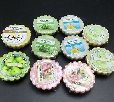 10 Yankee Candle Wax Tarts Melts Potpourri Assorted Scents & Colors - Older Ones • 12.59£