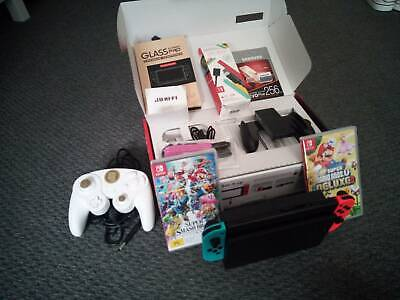 AU500 • Buy Neon Nintendo Switch Console Bundle With Extras