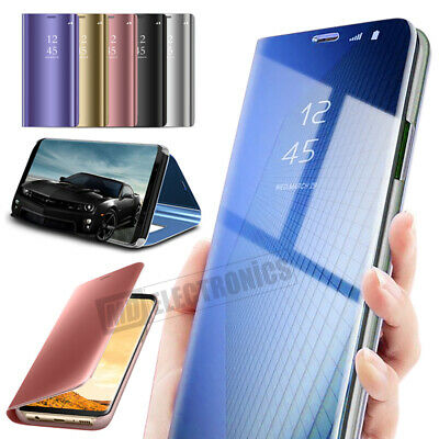 $ CDN6.91 • Buy Case For Samsung Galaxy S8 S9 S10 S20 Smart View Mirror Leather Flip Stand Cover