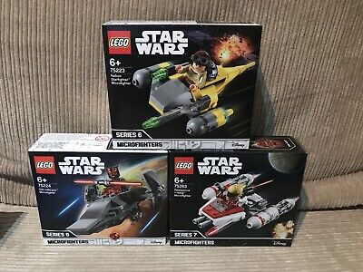 AU99.95 • Buy LEGO 75223 Naboo Starlight&75224 Sith Infiltrator &75263 Resistance Y-wing